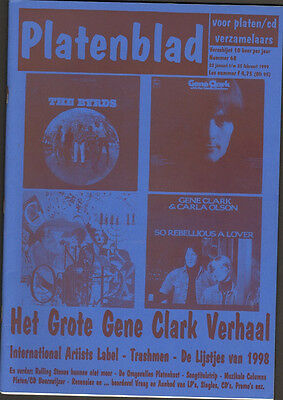 PLATENBLAD 68 GENE CLARK BYRDS 12 page! TRASHMEN International Artists LABEL