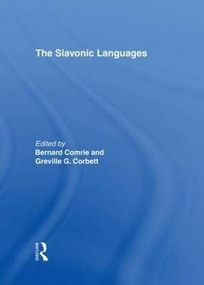 The Slavonic Languages by Bernard Comrie Hardcover Book (English)
