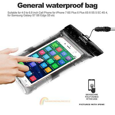 Waterproof Underwater Float Pouch Bag Case For Cell Phone iPhone7 5S 6 6S Plus