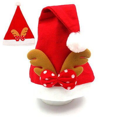 New Children Adults Christmas Hats Special Santa Claus Antler Cap Christmas Gift