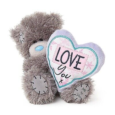 "Me To You 5"" Tatty Teddy Collectors Plush Bear - Love You Heart #W4061"