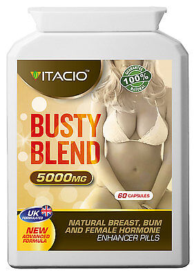 Busty Breast And Hips Enlargement Busty Blend 10:1 Extract 5000 Pills