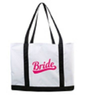 Wedding/honeymoon  Bride Beach Tote Bag- New Style!