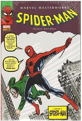 comics MARVEL MASTERWORKS SPIDER-MAN N. 1 SECONDA RISTAMPA panini marvel nuovo