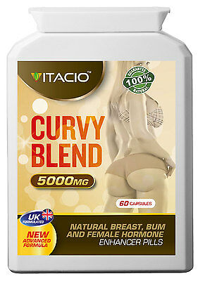 Breast, Bum And Hips Enlargement Curvy Blend 10:1 Extract 5000 Pills