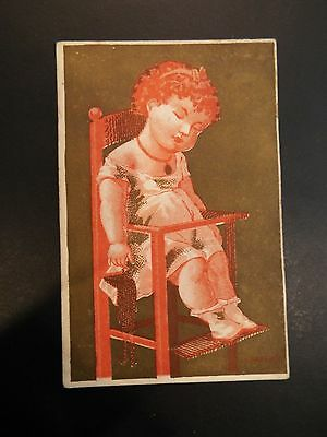 Wheeler & Wilson Mfg. Co. Family Sewing Machine Victorian Trade Card