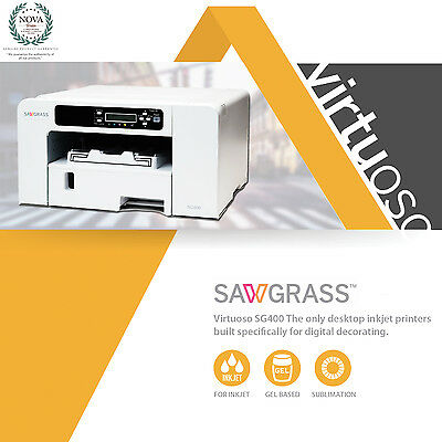 Sawgrass Virtuoso SG400 Sublimation Printer & Kit  FREE SHIPPING!!