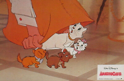 THE ARISTOCATS - Lobby Cards - WALT DISNEY - Animation