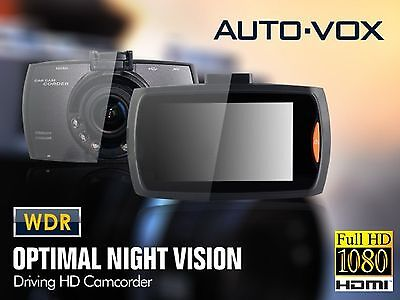 Full HD Dash Cam Blackbox Car VOX with 170° Wide Angle, WDR Night Vision