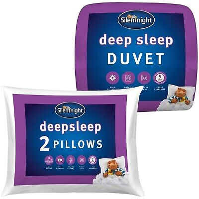 Silentnight Deep Sleep 10.5 Duvet & Deep Sleep Pillow Pair