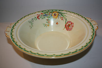 Vintage Yellow, Flowers Grindley, England Serving Bowl
