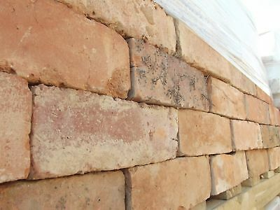 """Reclaimed Bricks - Red 3"""" Cheshire Red Wirecut (per 100)"""