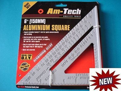 Metal ROOFING Level MEASURING Rafter Angle GUIDE Mitre Tool SPEED SQUARE Ruler