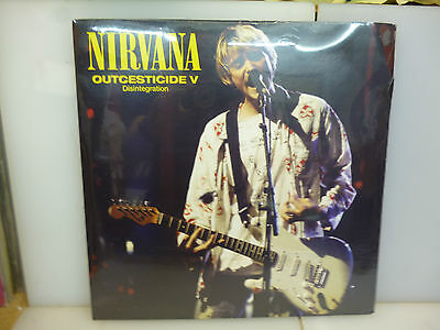 Nirvana-Outcesticide V. Rarities-Clear Vinyl Lp-New.sealed