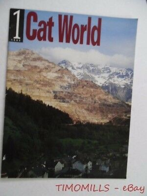1992 CAT WORLD Magazine #1 Caterpillar Tractor Company End of UAW Strike Issue