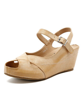 New I Love Billy Togel Latte Womens Shoes Casual Shoes Heeled