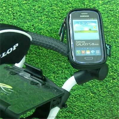 Weatherproof Case with Golf Trolley PRO Fit Mount for Galaxy S3 Mini GT-i8190