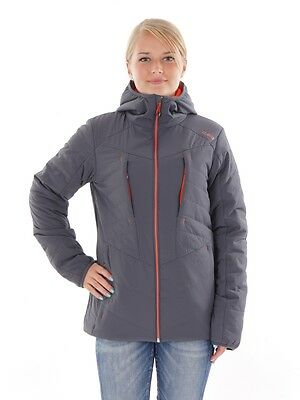 CMP Outdoor jacket Functional jacket gray Hood Stretch ClimaProtect