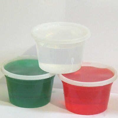 16 oz. Deli Food Storage Containers with Lid,- Microwaveable - - Dishwasher Safe