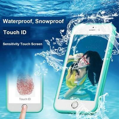 Waterproof  Shockproof Hybrid Rubber TPU Phone Case Cover For iPhone 5/ 6/6 Plus
