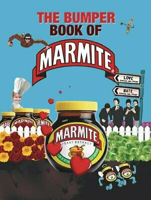 The Bumper Book of Marmite Hardback Book The Cheap Fast Free Post