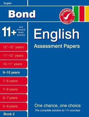Bond English Assessment Papers 9-10 years Book 2 by Lindsay, Sarah Book The