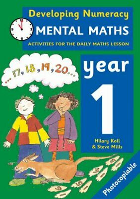 Developing Numeracy: Mental Maths Year 1: Activitie... by Mills, Steve Paperback