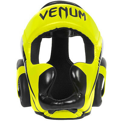Venum Elite Headgear - Yellow
