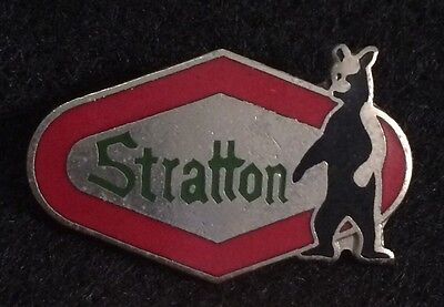 STRATTON Skiing Ski Pin Badge VERMONT VT Resort Souvenir Travel BEAR Lapel