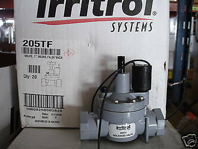 "Irritrol 205TF 1"" Female NPT Thread Flow Control Valve With 24V Solenoid"