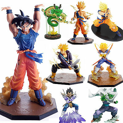 JP DragonBall Z Figure Toy Super Saiyan Collection Son Goku Anime Manga Figurine