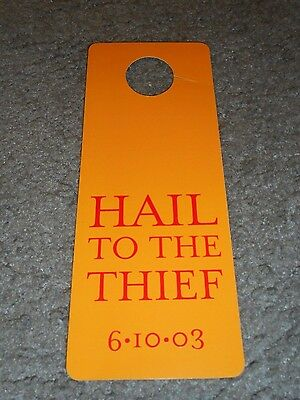 Radiohead - Hail To The Thief - Original Doorhanger - 2003