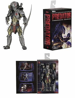 """Neca Predator Ultimate Scarface Deluxe 7"""" Scale Action Figure Video Game"""