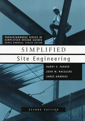 Simplified Site Engineering by Harry Parker Paperback Book (English)