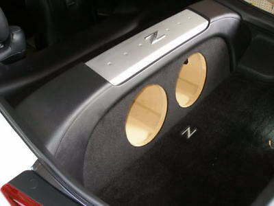 """Sub Box for Nissan 350z 2-10"""" Fits all years, coupe only, subwoofer box (Ver.1)"""