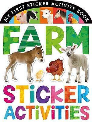 Farm Sticker Activities, Annette Rusling