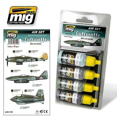 Ammo Of Mig Smart Set Luftwaffe Late Colors Cod.amig7209