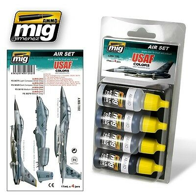 Ammo Of Mig Smart Set Usaf Set.1 Grey Modern Jets Cod.amig7202