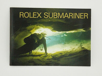 Genuine Rolex Submariner + Sea-Dweller Instruction Booklet Manual 2006