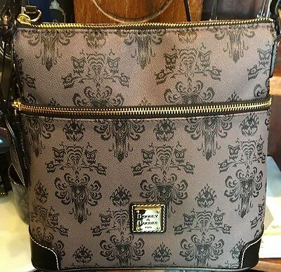 Disney Dooney and Bourke The Haunted Mansion Crossbody Bag Purse - New