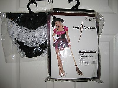 Leg Avenue Storybook Witch Sexy Halloween Costume Womens M