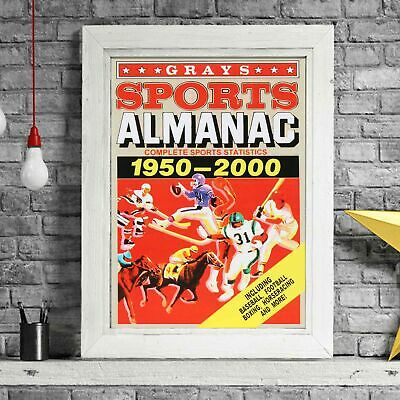 BACK TO THE FUTURE - Almanac Poster Picture Print Sizes A5 to A0 **FREE DELIVERY