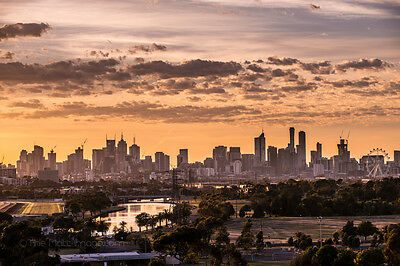 Melbourne's fiery morning