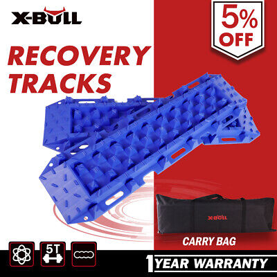 X-BULL Recovery Tracks Sand Trax/Track Tyre Ladder Snow Mud Car Vehicles Blue
