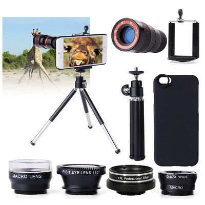 For iPhone 6 Camera Lens Kit 8x Telephoto Lens Fisheye,AWESOME ACCESSORIES DC554