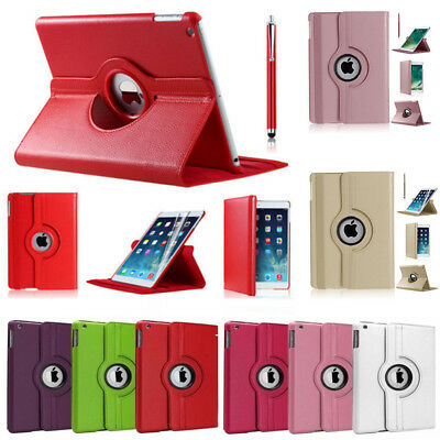 iPad Case 360 Rotating PU Leather Stand Case Fit For iPad 4th Gen iPad 2 3 Cover
