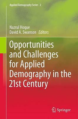 BUCH - Opportunities and Challenges for Applied Demography in the 21st Century