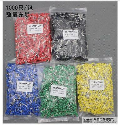 E1508 16 AWG 1.5mm2 Insulated Cord End Terminal Wire Ferrules
