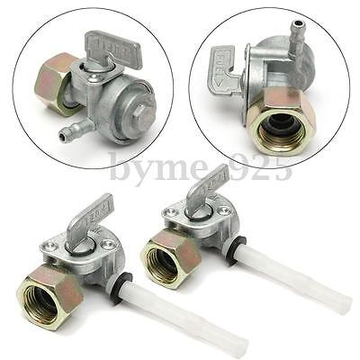2Pcs ON/OFF Fuel Shut Off Valve Tap Switch for Honda Generator Engine Oil Tank