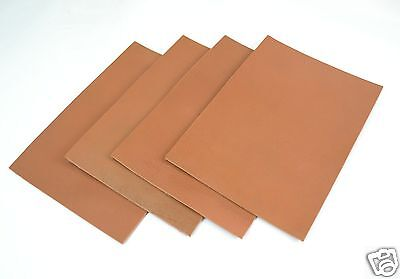 Büffelleder Brandy Croupon Buff Leather DIN A4 Dickleder Sattlerleder 3,2-3,8 mm